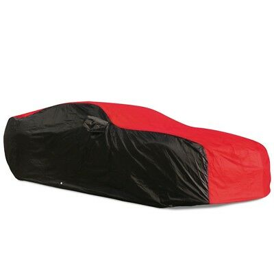 2010 - 2015 Chevrolet Camaro Ultraguard Car Cover - Indoor/Outdoor: Red/Black
