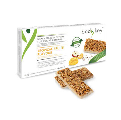bodykey by NUTRILITE MEAL REPLACEMENT BAR TROPICAL FRUITS