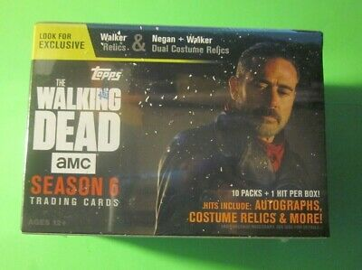 2017 Topps The Walking Dead Season 6 Trading Cards - Blaster Box