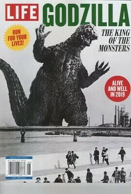 Godzilla The King Of The Monsters 2019 Life Special Edition Brand New Magazine