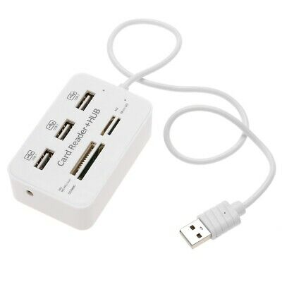 CY 3-port HUB USB 2.0 with Card Reader Adapter