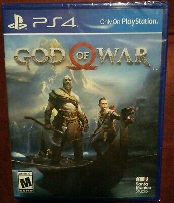 God of War Sony PlayStation 4 2018 Brand New Sealed PS4