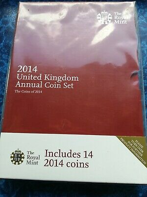 2014 Royal Mint Annual Brilliant Uncirculated Set Sealed