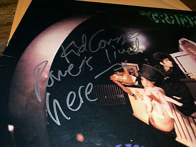 Rare signed autographed Cramps Album By Kid Congo Power