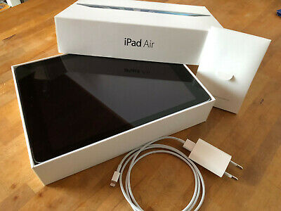 Apple iPad Air 1.Gen. 16GB, WLAN+Cell, 9,7 Zoll, space-gray in OVP, Top-Zustand
