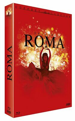 Roma Fellini Coffret Collector 3  Blu Ray+ Dvd  Neuf Sous Cellophane