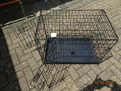 Used - In Good Condition - Dog Crate - Two Doors - Collapsible