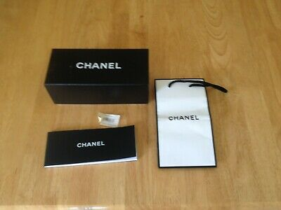 Empty Chanel Box/Bag and Booklet