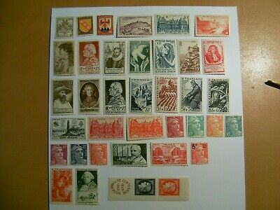 Lot Timbres neufs* France anciens 1945-49 lot122