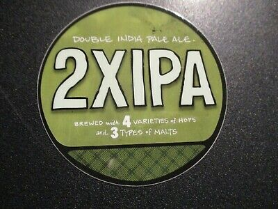 SOUTHERN TIER BREWING circle 2X IPA Circle STICKER decal craft beer brewery