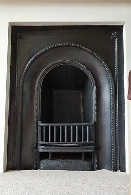 Victorian/ Edwardian Antique Cast Iron Fire Surround /  Fireplace
