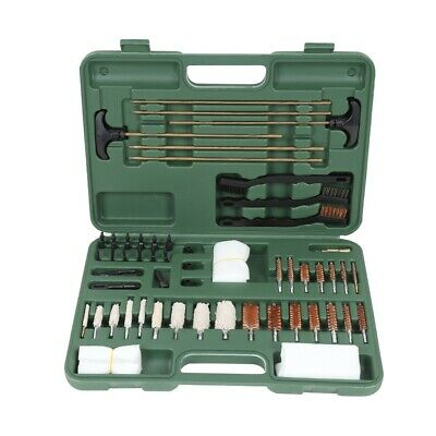Cleaning Kit for Rifles Pistols Pipe Mop Brushes Rust Removal Tools Set