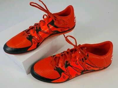 first rate b9d4d 0955c Adidas Mens Chaos X 15.3 Bold Solar Orange S83191 Indoor Soccer Shoes Sz  11.5 b9