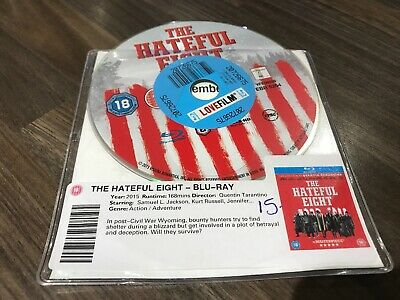 The Hateful Eight (Blu-ray, 2015) DISC ONLY