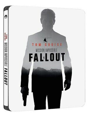 MISSION IMPOSSIBLE 6 FALLOUT 2-Disc Blu-ray STEELBOOK ... Tom Cruise - L@@K!
