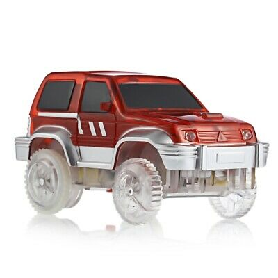 Children Racing Track Car Toy with LED Light