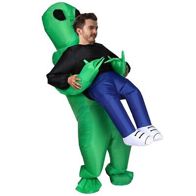 Inflatable Pick up Alien Costumes Cosplay Party Prop Toy