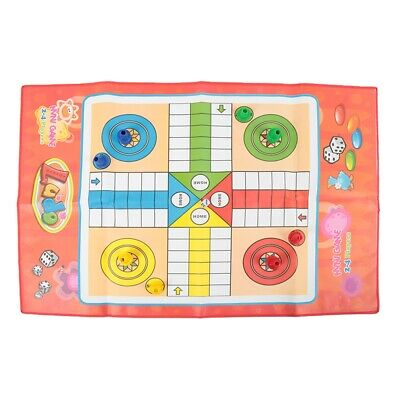 Foldable Non-woven Flying Chess Ludo Game