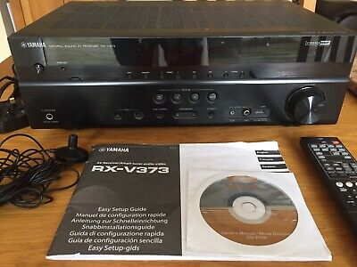 YAMAHA RX-V373 5 1 Channel Receiver 4x HDMI Including ARC + Lots Of Others