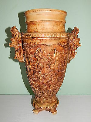 Big and Heavy Oriental Vase 41 cm high ca. 6 KG
