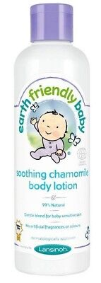 Earth Friendly Baby - Soothing Chamomile Body Lotion Organic Ingredients 250ml