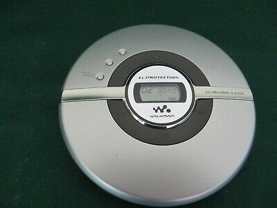 SONY WALKMAN D-EJ100 G-Protection Portable CD Player Disc