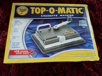 Top O Matic Cigarette Rolling Machine PRE-OWNED great shape