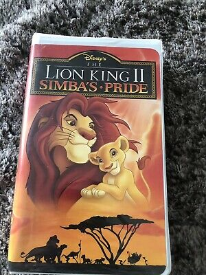 "Walt Disney's ""The Lion King 2: Simba's Pride"" (VHS, 1998, Clamshell) - Used/VGC"