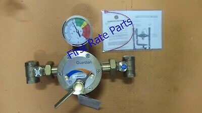 "Guardian G3800LF Mixing Valve Tempering 44 GPM Eye Wash Face Brass 1"" Shower"