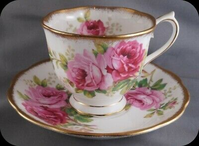 Royal Albert American Beauty Cup and Saucer England (up to 4 Available)