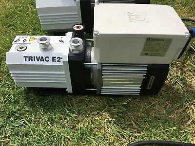 Leybold TRIVAC D 2,5 E Rotary Vane Dual Stage Mechanical Vacuum Pump 140001
