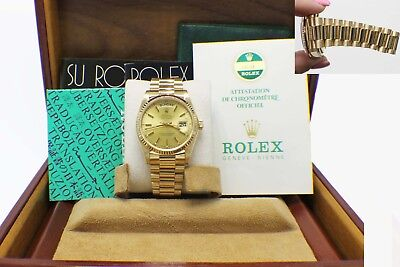 CERTIFIED PRE-OWNED ROLEX 18k Yellow Gold Midsize DateJust