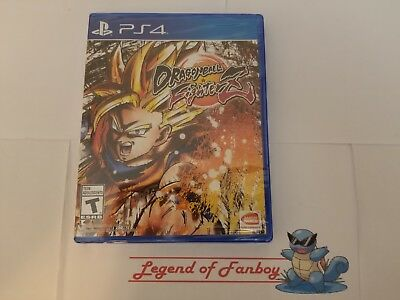 Dragon Ball Z FighterZ - ps4 PlayStation 4 * New Sealed Game * Dragonball Super