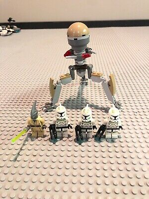 Lego Star Wars Clone Trooper Sand Green Lot 3, Coleman Trebor, Magna Tri-Droid