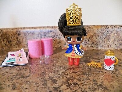 LOL Surprise Dolls Her Majesty Hairspray Makeover Series 5 Color Change