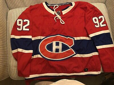 timeless design f6354 bbb88 MONTREAL CANADIENS JERSEY Jonathan Drouin Fanatics NHL 100th ...