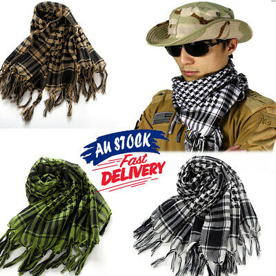 Arab Army Shemagh Tactical Scarf Neck Scarf KeffIyeh Military Palestine