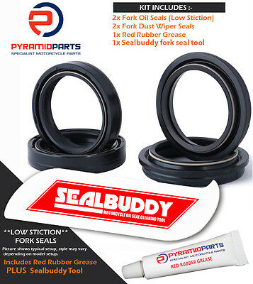 Fork Seals Dust Seals & Tool for Harley Davidson DYNA Low R 2000