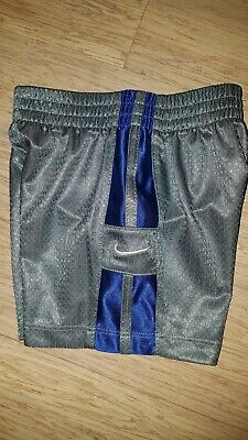 Nike Baby Infant Grey Shorts Size 12 Months