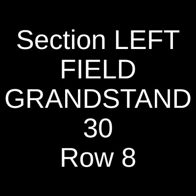3 Tickets Los Angeles Angels of Anaheim @ Boston Red Sox 8/11/19 Boston, MA