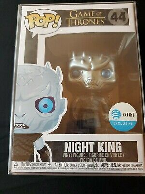 Funko Pop! Game of Thrones Metallic Night King #44 AT&T Exclusive - IN HAND