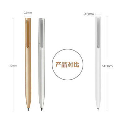 Original Xiaomi Mijia Metal Sign Pen Ink PREMEC Smooth Ballpoint with Refills