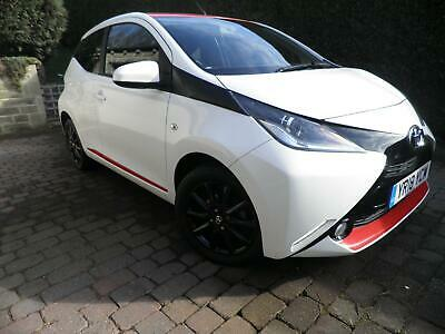 2018 18 REG TOYOTA AYGO 1.0 i X-PRESS VVT-I 5 DOOR WITH RED ROOF &STRIPS