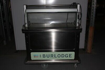 Burlodge Multigen II Rethermalised Oven Fridge Food Service Cart - 230V
