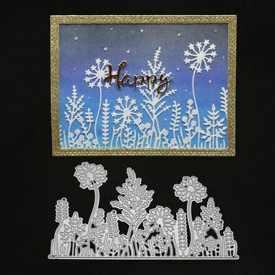 Dandelion Metal Cutting Dies Stencil DIY Scrapbooking Embossing Paper Card Craft