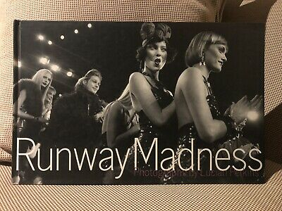 Runway Madness hardcover book Fashion Models Shows 1998 Designers