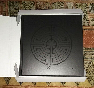 MARK WALLINGER Labyrinth Signed Book Epping Art on the Underground Maze 1st