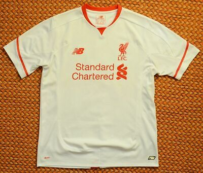 2015 - 2016 Liverpool FC, Away Football Shirt by New Balance, Adult Large
