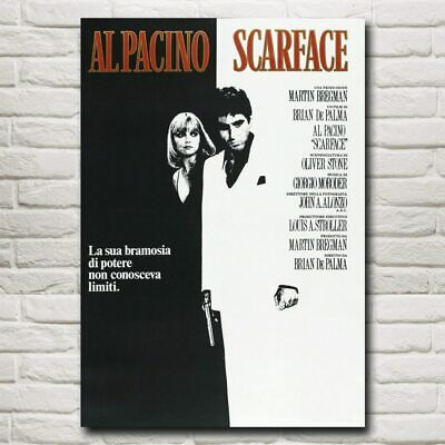 Scarface Paul Muni Classic Movie Family Art Silk Poster Print Wall Decor Picture