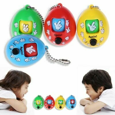 Finger-Guessing Keychain Mora Decompression Game Funny Toy For Kids Fidget Toys